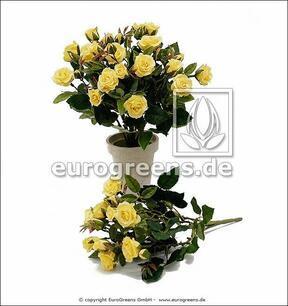 Bukiet sztuczny Żółta róża 25 cm
