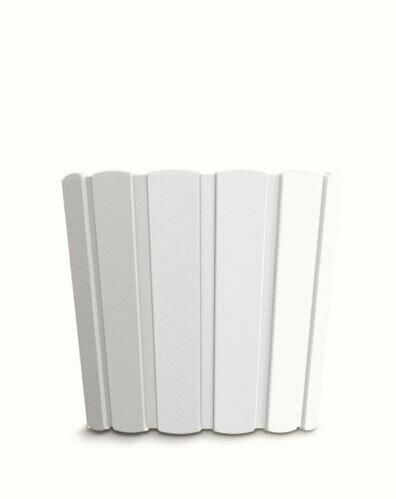 Doniczka BOARDEE BASIC biała 19,9cm