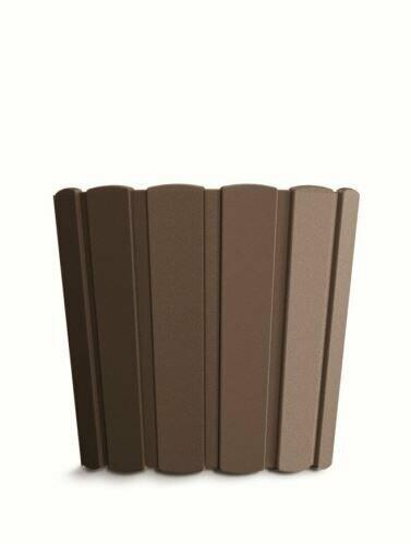 Doniczka BOARDEE BASIC brązowa 28,5cm