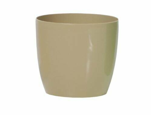 Doniczka COUBI okrągła kawa z mlekiem 15cm
