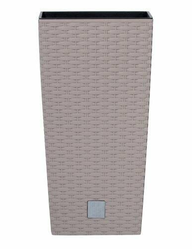 Doniczka RATO KWADRAT + depozyt mocca 17cm