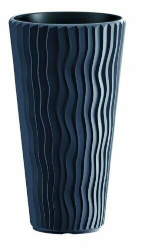 Doniczka SANDY SLIM + antracyt depozyt 29,7 cm