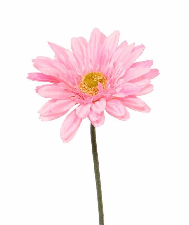 Gerbera sztuczna różowa 60 cm