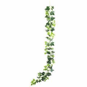 Girlanda sztuczna Bluszcz biało-zielony 190 cm