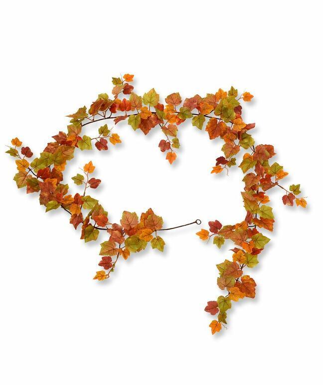 Girlanda sztuczna Winogrona jesień 180 cm