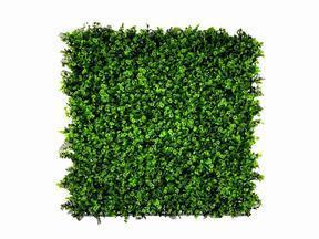 Panel sztuczny liść Koniczyna - 50x50 cm