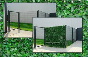 Panel sztuczny liść Wiśnia - 50x50cm