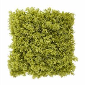 Panel ze sztucznego mchu zielonego - 25x25 cm