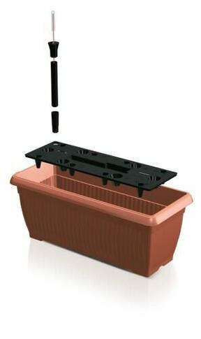 Puszka BALKONOWA 60 cm skrzynka + system nawadniający