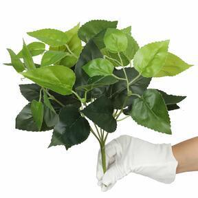 Roślina sztuczna Bazylia zielona 25 cm