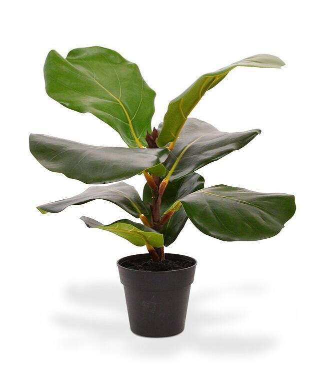 Roślina sztuczna Drzewo figowe 30 cm