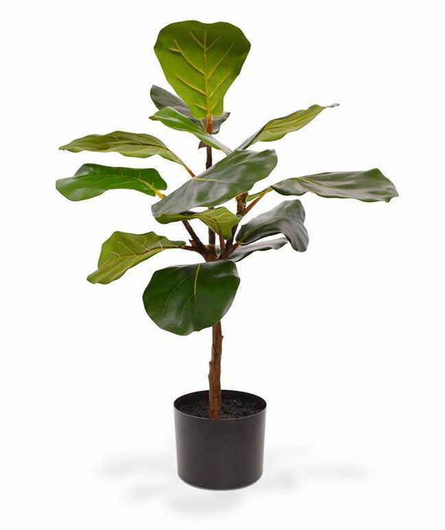 Roślina sztuczna Drzewo figowe 60 cm