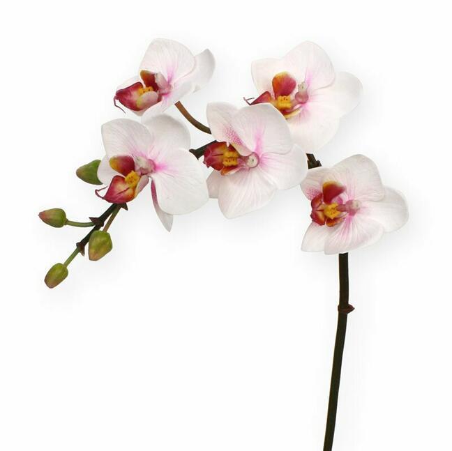 Roślina sztuczna Orchidea różowa 50 cm