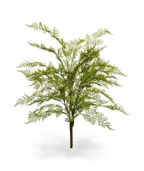 Roślina sztuczna Samica paproci 75 cm