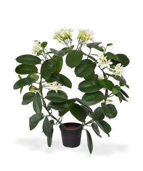 Roślina sztuczna Wianek z kwiatów 40 cm