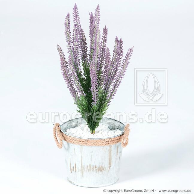 Roślina sztuczna Wrzos fioletowy 38 cm