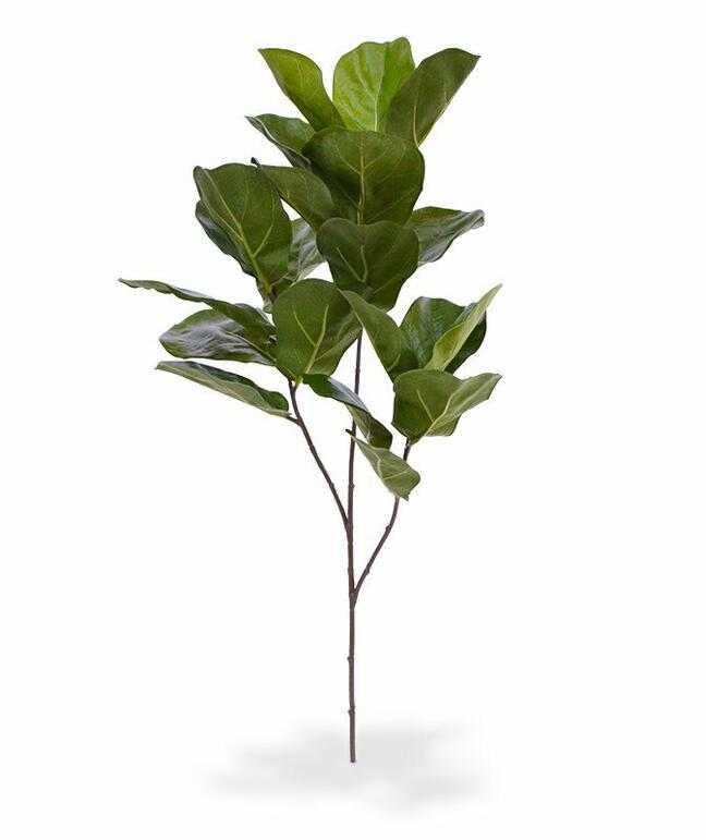 Sztuczna gałąź Drzewo figowe 70 cm