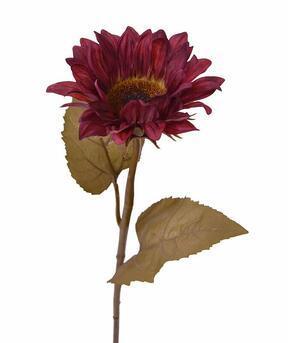 Sztuczna gałązka Burgund burgund 65 cm