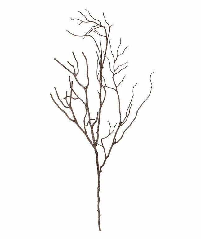 Sztuczna gałązka drewniana 65 cm