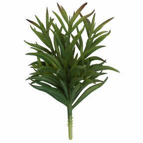Sztuczna gałązka Goździk zielony 17,5 cm