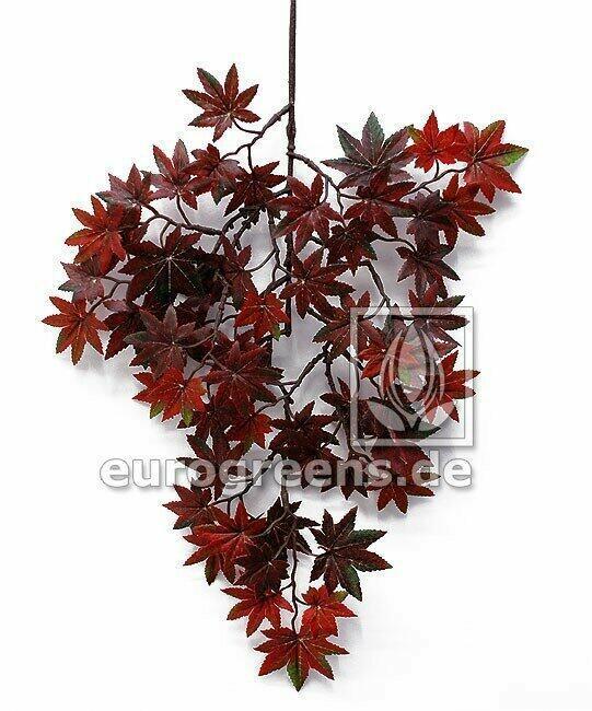Sztuczna gałązka Klon czerwonobrązowy 40 cm