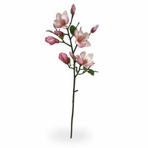 Sztuczna gałązka Magnolia różowa 80 cm