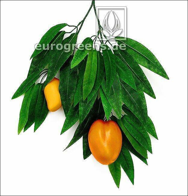 Sztuczna gałązka Mango z owocami