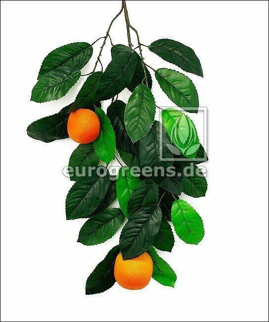 Sztuczna gałązka Pomarańcza z jagodami