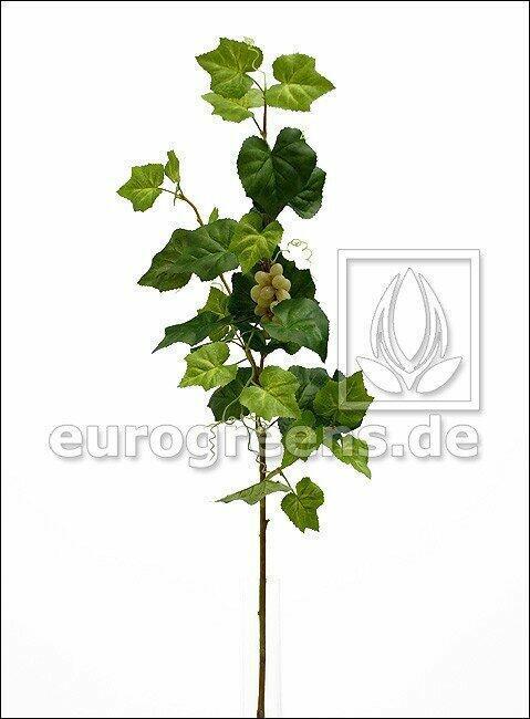 Sztuczna gałązka Winorośl z owocami 95 cm