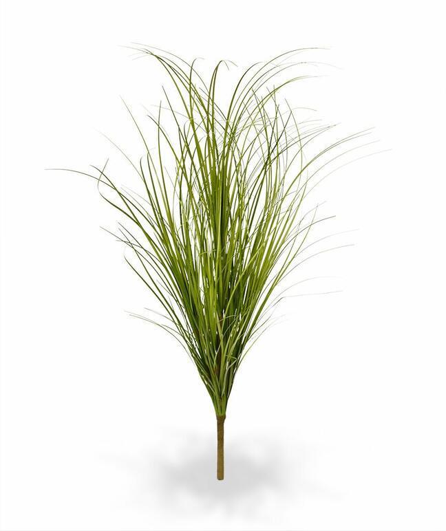 Sztuczna jasnozielona żłobiąca wiązka trawy 60 cm