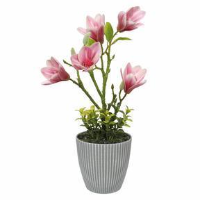 Sztuczna Magnolia w doniczce 21 cm