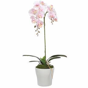 Sztuczna orchidea różowa 53 cm