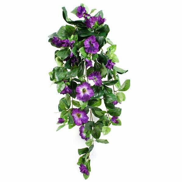 Sztuczna Petunia wąs fioletowy 80 cm