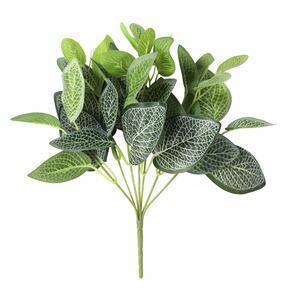 Sztuczna roślina Fitónia biała 25 cm
