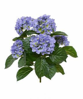 Sztuczna roślina Hortensja niebieska 40 cm