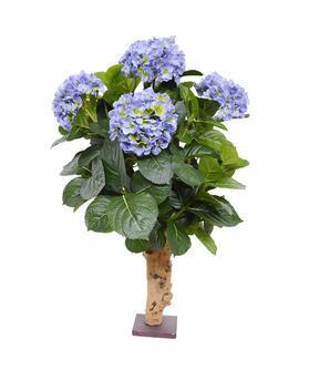 Sztuczna roślina Hortensja niebieska 65 cm