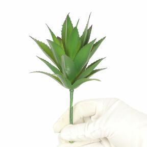Sztuczna roślina Liście ananasa 20 cm