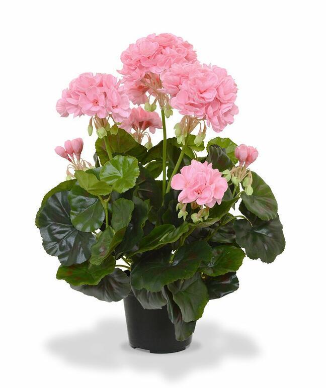 Sztuczna roślina Pakost różowa 40 cm