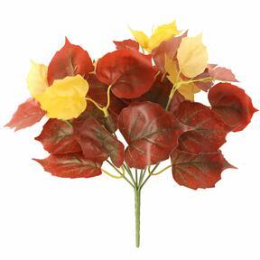 Sztuczna roślina Pavinič czerwona 25 cm