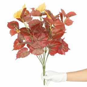 Sztuczna roślina Pavinič czerwona 45 cm