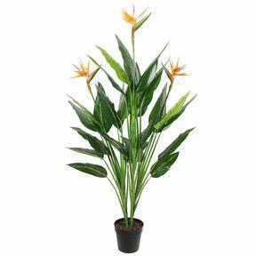 Sztuczna roślina Strzelanie kwitnące 150 cm