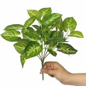 Sztuczna roślina Taro Araceae 25 cm