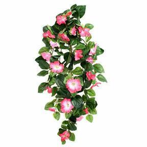 Sztuczna wąs Petunia różowa 80 cm
