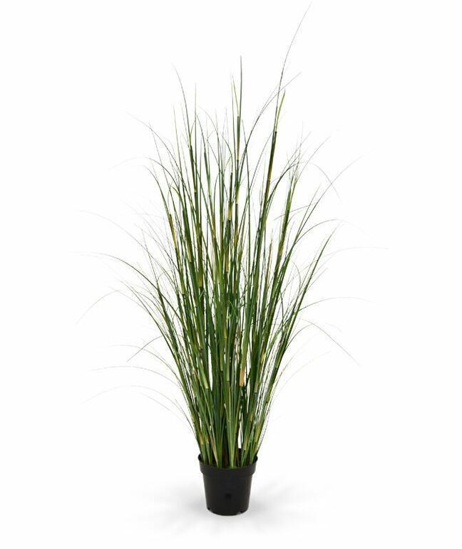 Sztuczna wiązka trawy bambusowej w doniczce 80 cm