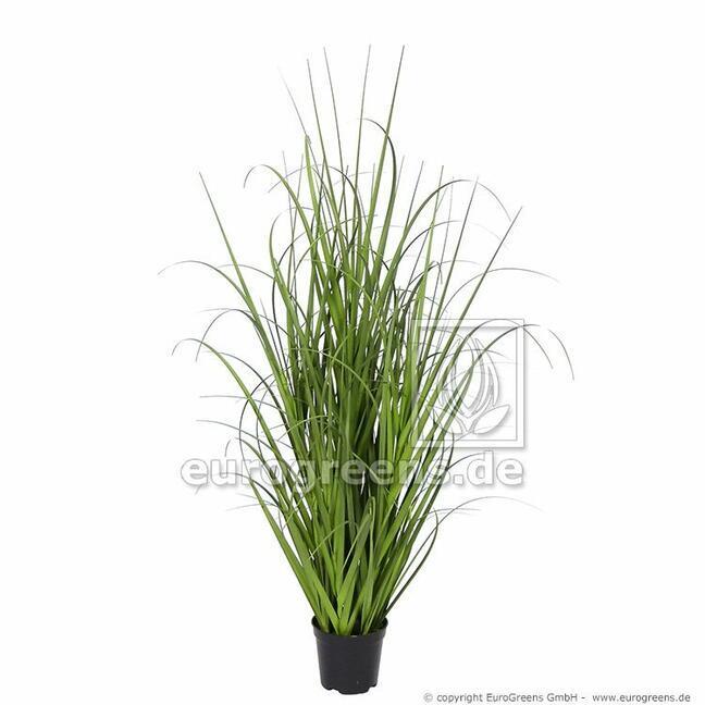 Sztuczna wiązka trawy Miskant ogromny w doniczce 70 cm