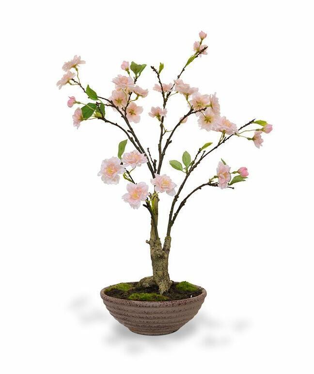Sztuczne bonsai Wiśnia 55 cm