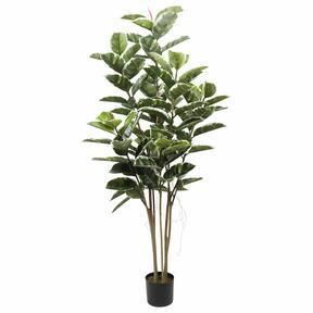 Sztuczne drzewo figowe o liściach liry 150 cm