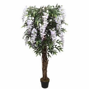 Sztuczne drzewo Wisteria fioletowe 150 cm
