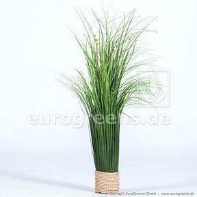 Sztuczne kwitnienie wiązek trawy 55 cm