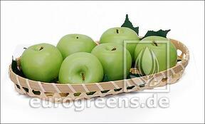 Sztuczne zielone jabłko